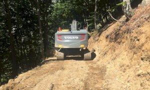 Le associazioni ambientaliste critiche con la realizzazione di una nuova strada verso il colle del Sabbione