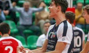 Pallavolo, Cuneo conferma in prima squadra il giovane Davide D'Amato