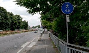 Cuneo, ancora polemiche sulla ciclopedonale di corso Marconi: 'Manca il raccordo con il ponte di Gesso'