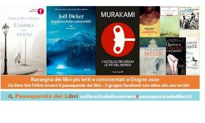 'Un libro tira l'altro': ecco i libri più letti e commentati del mese di giugno