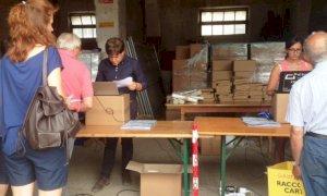 Cuneo, cambia l'accesso alla distribuzione dei sacchetti per il porta a porta