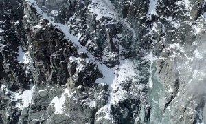 Distacchi di roccia dalla parete nord est del Monviso, nuovi sopralluoghi dell'Arpa