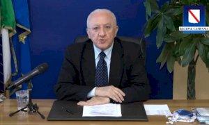 Il paragone ardito di De Luca: ''Saluzzo uguale a Mondragone, ma in tv sembra un paradiso''