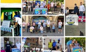 Oltre 4 mila firme raccolte dai gazebo della Lega di Matteo Salvini