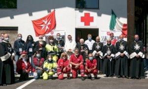 Una delegazione dell'Ordine di Malta in pellegrinaggio a Valmala