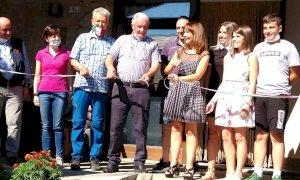 Inaugurata la nuova Taverna delle Grotte ad Aisone