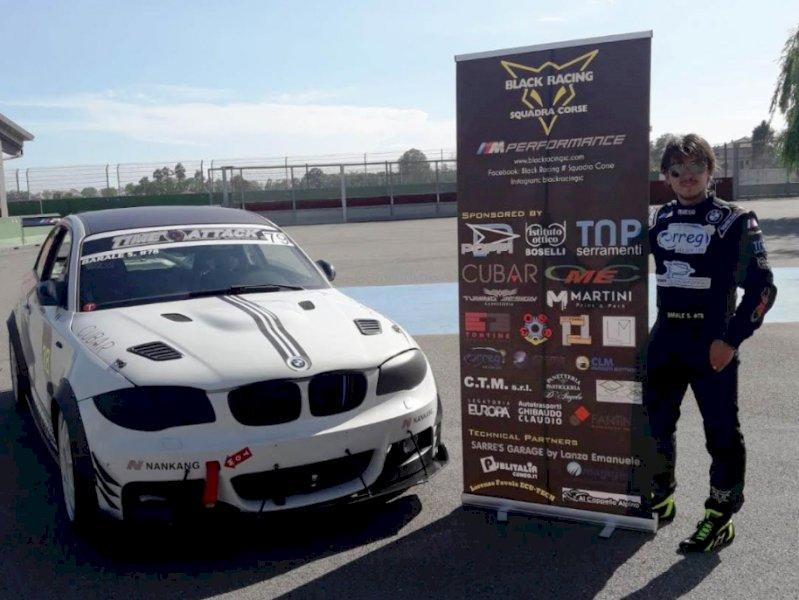 Motori, un guasto elettrico alla vettura ferma Simone Barale nel Time Attack Italian Series