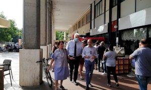 Cuneo, successo di pubblico per il primo mercato contadino di corso Giolitti
