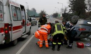 Effetto serrata generale: nei primi sei mesi dell'anno è crollato il numero di morti in incidenti stradali