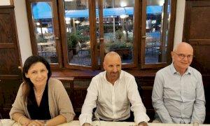 Il sindaco di Limone Massimo Riberi a cena con il primo ministro monegasco Serge Telle