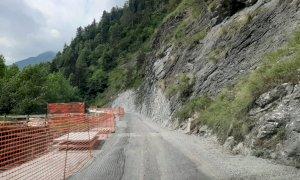 Val Maira, proseguono i lavori nel tratto Ponte Marmora-Canosio