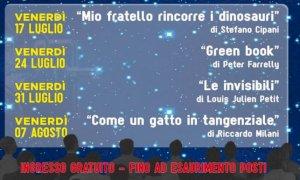 Cuneo, cinema sotto le stelle alla Pinetina con l'associazione MenteInPace