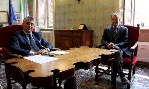 Il sindaco di Alba Bo e il vicepresidente della Crc Cappello a confronto sull'Ops di Intesa su UBI