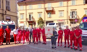 Dieci anni fa l'inaugurazione della Croce Rossa a Villanova Mondovì