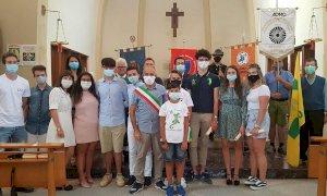 I diciottenni protagonisti della festa patronale di San Luigi a Rifreddo