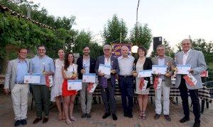 """Il Lions Club """"Bra Host"""" ha festeggiato sette nuovi soci sabato 18 luglio alla Cascina Gabutti Bussia"""
