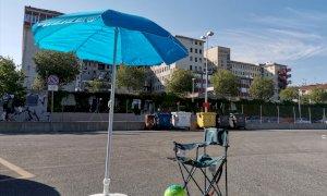 'Per quest'anno non cambiare, niente vacanze se vuoi mangiare': anche a Cuneo la protesta di CasaPound