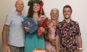 Schiacciatrice della Bosca si laurea in Ingegneria Gestionale, è la prima nella storia della società