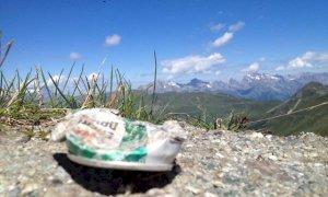 'Porta a casa i tuoi rifiuti': la campagna del Parco Alpi Marittime per sensibilizzare gli escursionisti