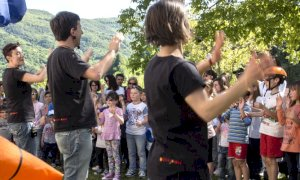 """Visita con interazioni musicali al Forte di Vinadio per il progetto """"Persone Patrimonio d'Impresa"""""""