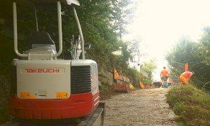 Al via i lavori di completamento della pista ciclabile da Rifreddo a Revello
