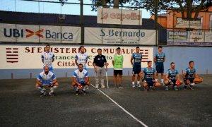Pallapugno, buona la prima per Cuneo: 9-5 contro la Tealdo Scotta Alta Langa