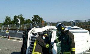 Tre auto coinvolte in un incidente sull'A6: chiusa per oltre un'ora l'autostrada dopo il casello di Mondovì