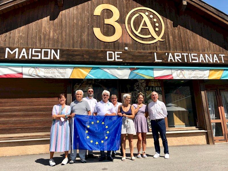 Un 'tour de France' per la delegazione guidata dal sindaco di Saluzzo