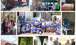 Gazebo della Lega nelle piazze della Granda: prosegue la raccolta firme a sostegno di Salvini