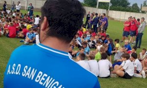 La scuola calcio San Benigno 2RG incassa la partecipazione dell'ASD Passatore