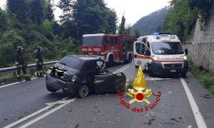 Un morto nello scontro tra auto e camion a Ceva