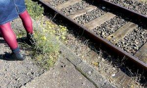 Fotografa una ragazzina accanto a lui ma viene notato dai passeggeri del treno: denunciato un 65enne