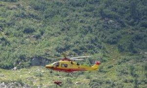 Escursionista 67enne precipita in una scarpata tra la diga del Chiotas e il lago delle Rovine