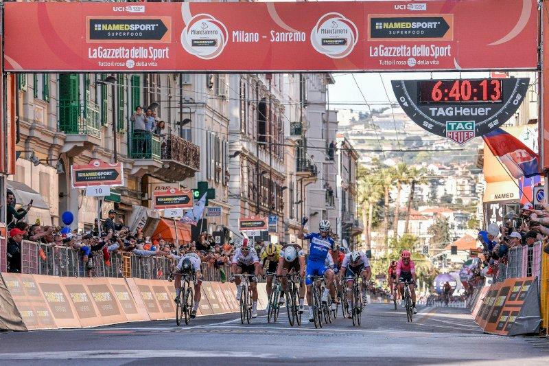Ciclismo, annunciati gli iscritti per la 111esima Milano-Sanremo