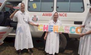 Un'ambulanza nella missione congolese di suor Emanuela grazie alla generosità dei cheraschesi