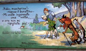 Vernante, visite guidate alla scoperta dei murales di Pinocchio
