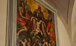 Le opere d'arte della chiesa di Pontebernardo tornano a nuova vita