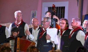 J Amis d'la Madlana in concerto per gli Alpini di Fossano