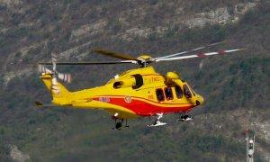 Ancora incidenti in montagna in valle Gesso: oggi due interventi dell'elisoccorso