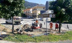 Rifreddo, parte la riqualificazione di piazza Garibaldi