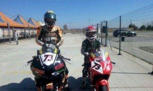 Motociclismo, primo successo per il giovanissimo Andrea Vitale in classe 300 SS