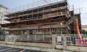 Cuneo: lavori in corso nella palazzina accanto alla Provincia per creare 10 nuove aule scolastiche