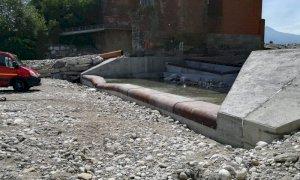 Conclusi i lavori di sistemazione idraulica del ponte sul torrente Gesso all'ingresso di Cuneo