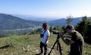 In partenza al Bric Lombatera di Paesana le osservazioni del passaggio dei rapaci migratori