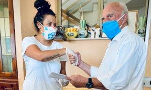 Premi ai dipendenti della casa di riposo di Chiusa Pesio impegnati durante l'emergenza Coronavirus