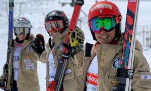 Sci Alpino, settimana di allenamenti sul ghiacciaio di Breuil Cervinia per Marta Bassino