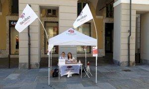 Anche a Cuneo la mobilitazione dei Radicali contro il taglio dei parlamentari