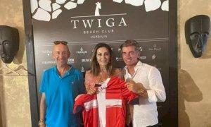 Calcio, sulle maglie del Cuneo ci sarà anche il 'Twiga' di Forte dei Marmi
