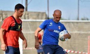 Calcio, Patrick Enrici si allena già con la Sambenedettese di Paolo Montero