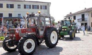 Beinette, partecipazione alla festa di San Magno tra trattori e luna park